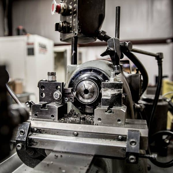 Machinery in the shop