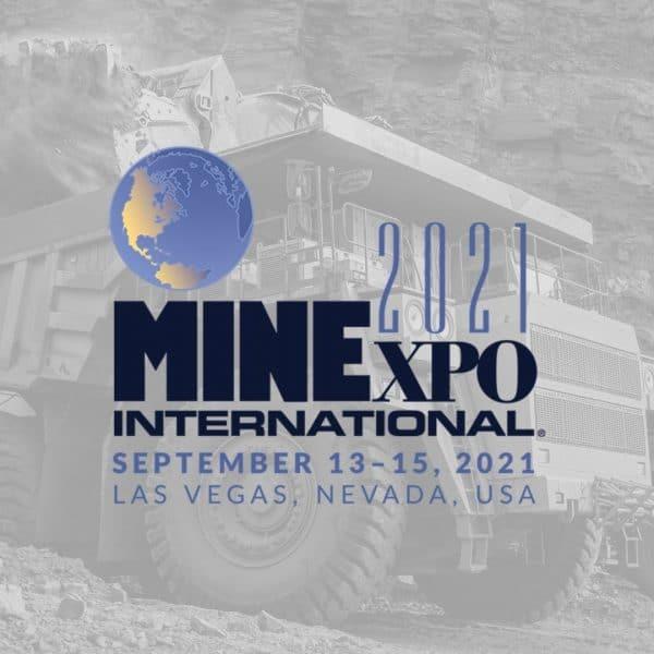 MINExpo 2021 September 13-15, 2021