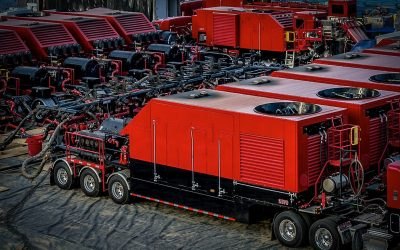 Liberty Frac Pumps with AFEX Fire Suppression Systems for the Digital Oilfield