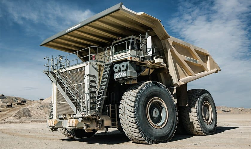 Dual Agent System for Fire Suppression on New Liebherr T 274 Haul Truck at Mines