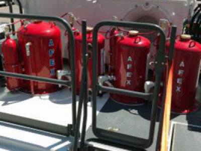 AFEX Dual Agent Fire Suppression System