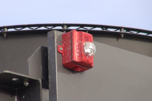 Fire Suppression Horn and Strobe Gives Audio and Visual Indicators for Enhanced Safety
